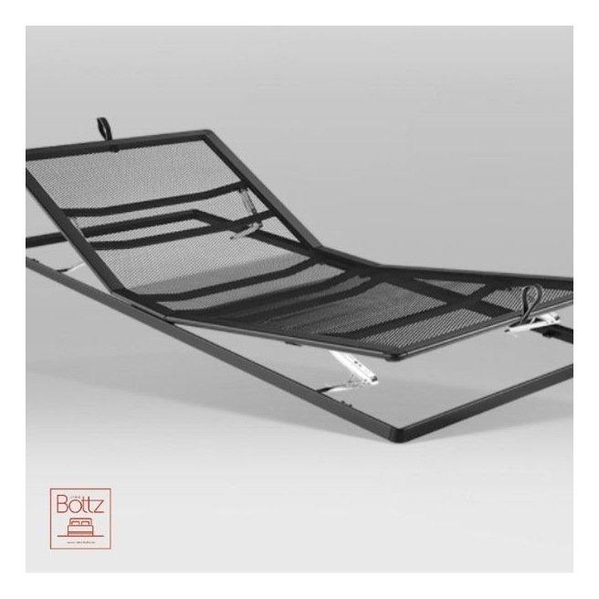 DESTOCKAGE - Sommier Auping réglable manuellement 160x200 cm